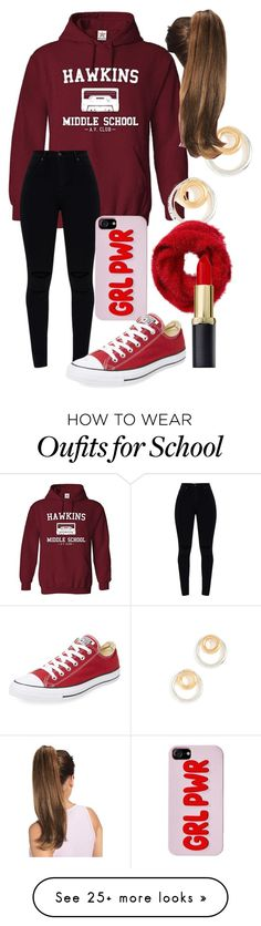 """""""Untitled #168"""" by ed-nae on Polyvore featuring Madewell, Converse and Charlotte Russe"""