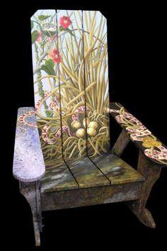 ♡ ڿڰۣ-- Adirondack chair