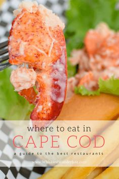 Cape Cod is full of beautiful beaches and charming old towns, but the best part is the seafood. Here's where to eat in Cape Cod. Cape Cod Towns, Cape Code, Cape Cod Vacation, Cape Cod Massachusetts, Cape Cod Style, Raw Bars, Seafood Restaurant, Best Places To Eat, Viajes