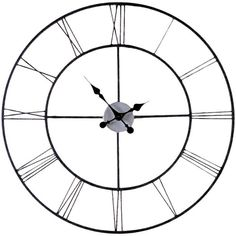 """Found it at Wayfair - Chryses Oversized 30"""" Decorative Wall Clock"""