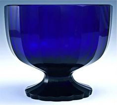 Antique Hand Made Austrian Cobalt Glass Pedestal Centerpiece Bowl Cobalt Glass, Cobalt Blue, Im Blue, Glass Ceramic, Blue Accents, Glass Collection, Colored Glass, My Favorite Color, Shades Of Blue