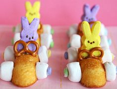 Easter Racing Rabbit Treats #EasterCrafts #Easter