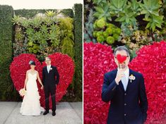 big flower heart background | Red Valentine's Day Wedding Inspiration http://theproposalwedding.blogspot.it/ #wedding #valentinesday #heart #red #matrimonio #sanvalentino #cuore #rosso