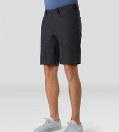 Voronoi Short Men's Trim fitted, articulated short designed with intersecting seams and pocket placements, constructed with a cotton/nylon m...