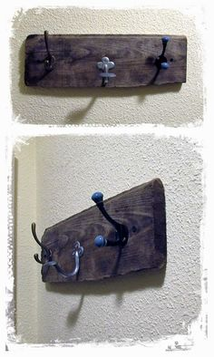 Anita Melo: Cabide de parede... Perchero de pared Anita, Blog, Home Decor, Design, Wall Coat Hooks, Recycling, Diy Creative Ideas, Crafts, Creativity