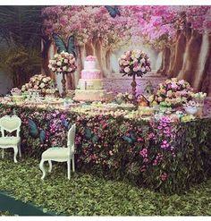 Eid decoration, eid mubarak, eid party city, why is eid celebrated, eid today Garden Birthday, Fairy Birthday, Birthday Decorations, Wedding Decorations, Lila Baby, Enchanted Forest Party, Enchanted Garden, Butterfly Birthday, Deco Floral