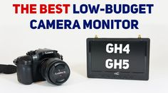The Best low budget camera monitor? Flysight Black pearl review and GH4 Test #Videography