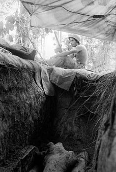1968 Australian soldier, Coral Fire Support Base, Vietnam