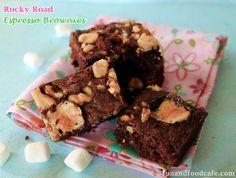 Irresistible Rocky Road Espresso Brownies