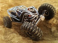 This is a scale rc replica of the Coleworx Moonrover buggy. Watch it in HD and full screen for some southern rock bouncing goodness! Rc Cars And Trucks, Gt Cars, Road Race Car, Rc Rock Crawler, Trophy Truck, Sand Rail, Top Luxury Cars, Beach Buggy, Sweet Cars