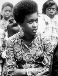 6. The Sixties and Seventies: African inspired prints and Afros common among members of the Black Panthers, a civil rights group in the 1960s.