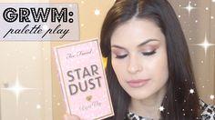 GRWM: Too Faced Stardust by Vegas Nay #grwm #makeup #beauty #toofaced #vegasnay #eyeshadow