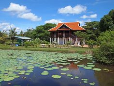 Siem Reap/Angkor Wat homestay....visit by bicycle for less