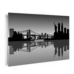 Tableau plexi new york skyline