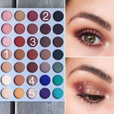 Happy Friday  Today's eye look using Morphe Brushes X Jackie Hill Eyesha