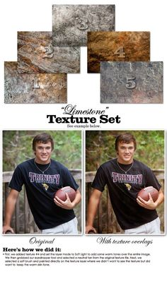TEXTURE OVERLAYS - Limestone - Expertly Designed Digital Photography Backdrops