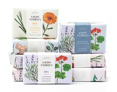 Savon Stories Organic Soap on Packaging of the World - Creative Package Design Gallery