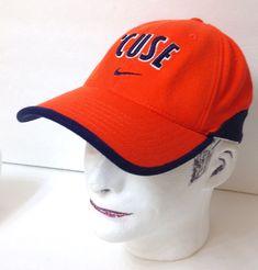 f15c539f95e03 vtg NIKE  CUSE HAT Syracuse Orangemen Orange Navy Curved Stretch Flex  73 8-71 2  TopoftheWorld  SyracuseOrange