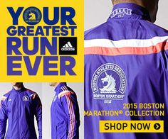 Check out the all new 2015 Adidas Boston Marathon Running Gear