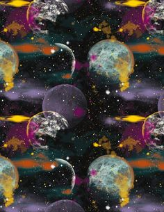 8454-99 , Cosmic Space by Blank Quilting, The Blank Quilting Corporation