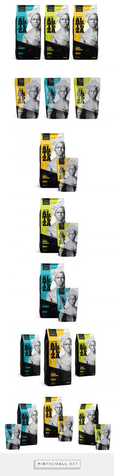 Alteza Coffee (Concept) - Packaging of the World - Creative Package Design Gallery - http://www.packagingoftheworld.com/2017/02/alteza-coffee-concept.html