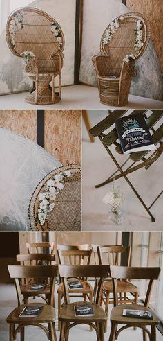 Make My Lemonade Ceremony Seating, Wedding Seating, Boho Wedding, Wedding Day, Deco Champetre, Diy Wedding Inspiration, Bohemian Theme, Wedding Chairs, Sweetheart Table