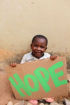 This young boy in Ghana fills me with hope for the future of Africa. So sweet!