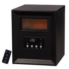 Duraflame 5,200-BTU Infrared Quartz Cabinet Electric Space Heater ...