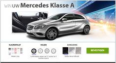 Win een Mercedes Klasse A !!! Speel mee met deze wedstrijd en maak kans om een Mercedes Klasse A te winnen. De winnaar mag zelf het interieur uitkiezen. http://gratisprijzenwinnen.be/win-een-mercedes-klasse/  #win #auto #mercedes #wedstrijd