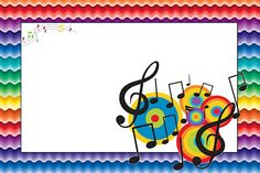 Imprimibles de notas musicales.