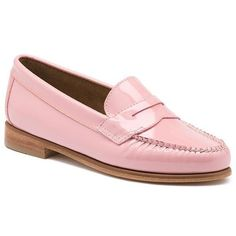 Brice Patent Penny Loafer - Loafers & Drivers - Women - Factory Outlet... ($70) ❤ liked on Polyvore featuring shoes, loafers, g.h. bass & co. shoes, patent leather loafers, patent leather shoes, patent loafers and penny loafer shoes