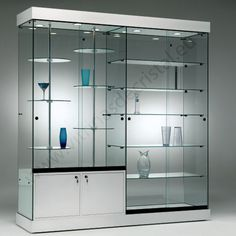 21 Various DIY Display Case Ideas to Keep your Beloved Stuff! - Home Decor Ideas Showcase Cabinet, Glass Showcase, Showcase Design, Glass Furniture, Home Decor Furniture, Trophy Cabinets, Crockery Cabinet, Pharmacy Design, Shop Interiors