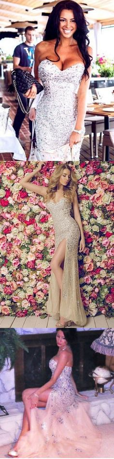Split Side Prom Party Dress, 2016 Prom Dress, New Arrival Prom Dress
