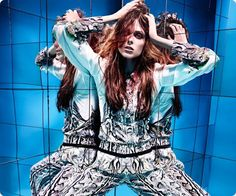 coco + cavalli: coco rocha by rankin for hunger spring/summer 2013 | visual optimism; fashion editorials, shows, campaigns & more!