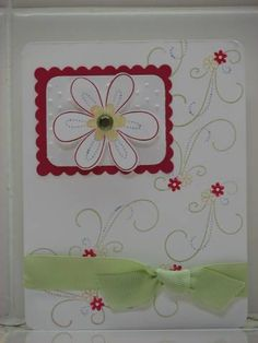Cake challenge! using Stampin Up Friendship Blooms