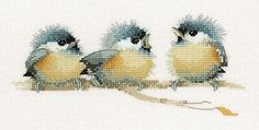 free cross stitch patterns birds - Google-søk More