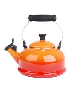 This would look awesome in my kitchen...La Creuset Tea Kettles, $74.95...but ouch, look at that price.