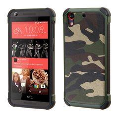 MYBAT Dual Armor HTC Desire 626 Case - Camouflage Green