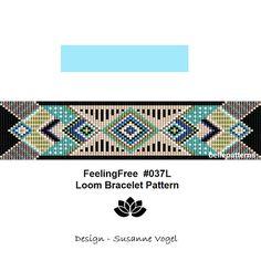 loom bracelet patternPDF-Download 037Lbracelet pattern