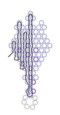 Мои василечки. | biser.info - всё о бисере и бисерном творчестве