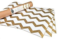 Hammocks & High Tea — Chevron Drawer Liners- NEW! - StyleSays
