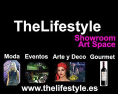 """TheLifeStyle Showroom. Fashion and Art Space"". Venta directa, calle Reyes Magos, 4 - Madrid-Retiro. http://www.facebook.com/TheLifeStyle.TLS"