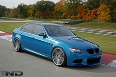 IND Distribution Atlantis Blue E90 ///M3