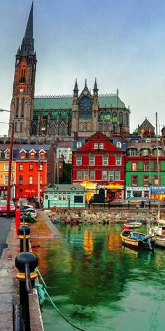 Cobh, County Cork, Ireland! See 20 of the Most Colorful Cities in the World! | Bucket List | Travel | Cities | Photography