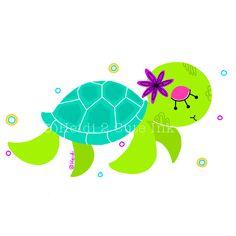 Sea Turtle illustration adobe ideas!