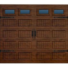 Martin Garage Doors Wood Collection Summit 16 Ft X 7 Ft