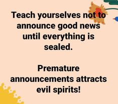 Uplifting Quotes, Inspirational Quotes, Evil Spirits, Daily Inspiration Quotes, Peace Of Mind, Deep Thoughts, Good News, Self Love, Announcement