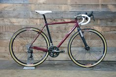 Cyclo-Cross bike from NAHBS by huntercycles, via Flickr