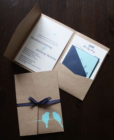 Invitation Inside and Out | Flickr - Photo Sharing!