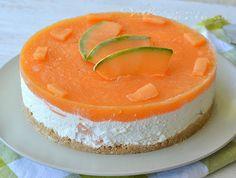 Torta fredda al melone ricetta estiva